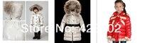 ребенка вниз Rico babysuit комбинезон пуховик снег одежды синуса пальто высокое качество синий цвет