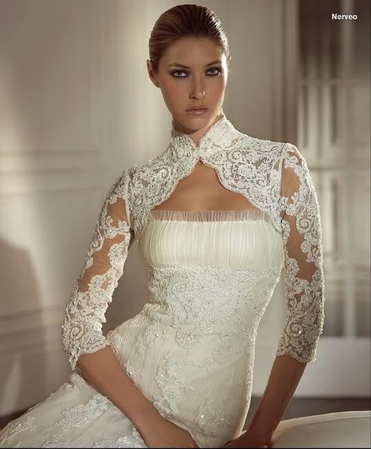 Hochzeitskleid spitze bolero