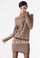 заголовки тонкий-типа с высоким стоит с ди Recover с свитер