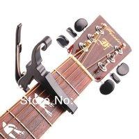 100 шт./лот быстрый быстрый изменение ключ Trigger capo акустическая электрическая гитара зажим черный