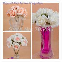 свадебные пэ роза цветок букет для свадьба украшение 10 стебли