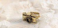 17 мм sizeретро камера кольцо древних бронза древних серебро j1205