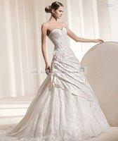 дешевые свадебное платье красивые свадебные платья без бретелек