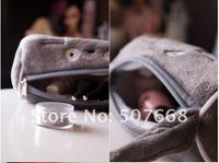 серый тоторо плюшевые пенал косметичка - большой тоторо плюшевые пенал