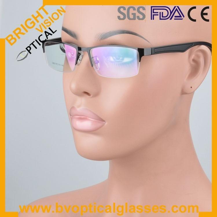 New model half rim metal optical frames glasses2262hei