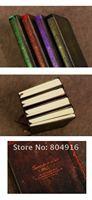 первая линия мини-ретро европейский стиль твердый переплет площадку дневник памятка блокнот 4 цветов st0759