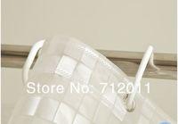 2 м * 1, 8 м толстый водостойкий пвх душ занавески, ванна тень, металл разрез с 12 кольца
