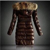 бесплатная доставка! бренд женщины зимние пальто и куртки, парки пуховик, верхняя одежда женщин с капюшоном yrf3106