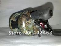 катушка рыболовная мультипликаторная ба 30 4 + ББ свет camouflagecolor алюминиевая шпуля и рамка правое исполнение