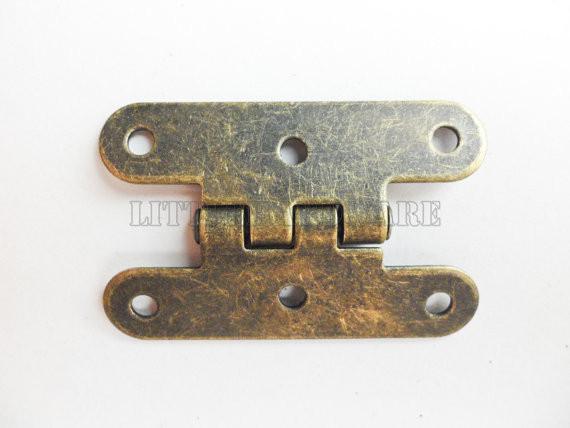 бесплатная доставка 20 шт. старый стиль металла производства старинные петли для коробка для ювелирных изделий