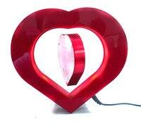 сюрприз магия в форме сердца луна подарок для girf друг магнитного плавающей фото антигравитация фоторамка + бесплатная доставка по почте
