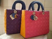бесплатная доставка продавать в розницу новые женщин probation яркий цвет LED дизайн сумки сумка муфты дня