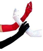 3 цвета печать мода леди длинные перчатки damascus 46 см