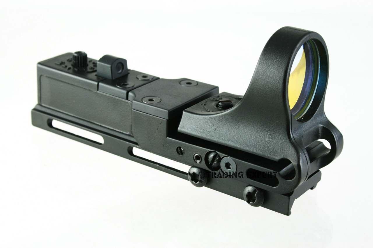 Black C More Clone Red Dot Rifle Pistol Sight Fits Mm Standard Rail Free Ship