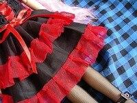 wamami ] 705 # красный и черное платье 1/4 мсд ДОД БЖД они