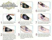 блеск клей татуировки гель для временного набора татуировки-бесплатная доставка