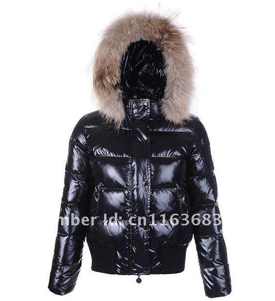 Women's Down Coat Fashion Fur Collar Jackets Designer Hooded Down ...