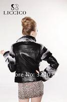 Женская кожаная куртка jakcet # hd/60/1