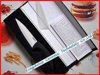 Ceramic черный рукоятка ножа