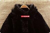бесплатная доставка clad стиль теплый новый женская зима обвинение мех с шляпа / мода женская por шерстью / оптовая продажа / 2 / 121224 - 4