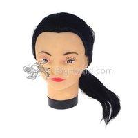 практика манекен-головки косметология + зажим парикмахерские # 009901 - 023