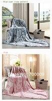 ковры для гостиной лушань любовь многоцветный бархат одеяло теплое антибактериальные для кожи дышащий бамбуковые волокна без пиллинг