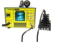 бесплатная доставка gordak-цифровому дисплею 952d 2 в 1 паяльной станции горячего воздуха тепловые пушки с СМД паяльная станция