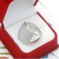 бесплатная доставка 18 к белый позолоченный опал мода старинные унисекс для подарка кольцо 931520