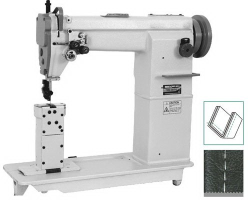 Doubleneedles Post Bed Lockstitch Sewing Machineindustrial Sewing Enchanting Post Bed Industrial Sewing Machine