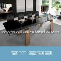 мебель для дома современный волны стекло Baden стол bt502