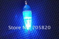 10 шт./лот из светодиодов падение промысла Poor свет мини 6 см / 6.6 г водонепроницаемый сбор - проезд для Nasty РБА, бесплатная доставка