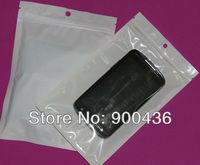 телефон чехол пластик, белый жемчуг пакет полиэфир мешок, мешок / сумка для для iPhone 5 5 г 5С чехол, мобильный мешок
