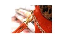 бесплатная доставка! натуральная Costa сумка, леопард начать сумка, элегантная вечерняя сумма, мода мини сумка