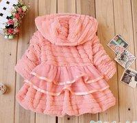 новый пальто оптовая продажа зима детский, ребенок пальто, пальто девушки