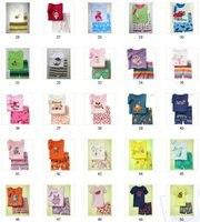 детские пижама костюмы / детские комплект снаряжение спальные шорты свитера детские рубашки плотный верхний брюки, многие мальчиков и девочек цвета
