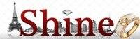 """ювелирных изделий 0.04 карат """"путешествие из любовь"""" ожерелья чел с Brilliant круглой орган 18 к белый бесплатная доставка DHL и EMS"""
