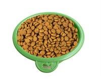 2 шт. симпатичные охраны окружающей среды силикона складной животное чаши собака чаша складной портативный путешествия кошки домашнее животное миску воды питание