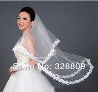 новый шикарный 1.5 м свадьба фата оптовая продажа свадьба лучший подарок для невесты аксессуары для волос