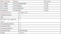 бесплатная доставка виктор vc7001 электрические метр, аналогии vc30258 мультиметр