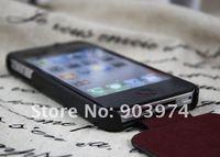100% оригинал нет чехол для айфон 4с, так кора Коста чехол для айфон 4 G красный / черный / коричневый херцег колесо доступны бесплатная доставка