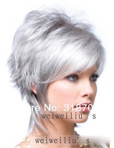 couleur regardez limage condition toutes les perruques sont neuves et nont jamais t ports matriel toutes les perruques est homme fait avec haute - Coloration Cheveux Gris Argent