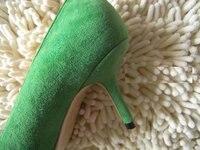 оптовая продажа горячая распродажа мода 4 цвет салат Cartel женская туфли на высоком bloke туфли леди свободного покроя туфли бесплатная доставка