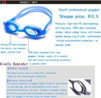черный для взрослых Silicon Plate очки водонепроницаемый анти-загар анти-уф очки очки plat g801-2