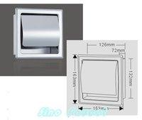 новое роскошные 304 из нержавеющей стали для туалетной бумаги 007 опт и розница