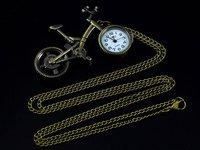 бесплатная доставка и оптовая продажа рождественский подарок j089 Vintage lat тон велосипед Karma часы сеть