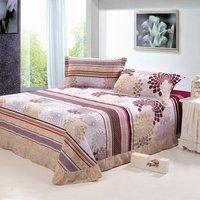 бесплатная доставка! замши хлопок печатных постельное белье, домашний текстиль, толще постельное белье