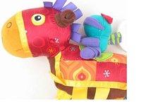 горячая распродажа бесплатная доставка многофункциональный красочные пони кровать pest детские развивающие игрушки
