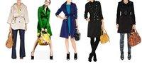 новый женственный тафта пальто для женщин черный плащ