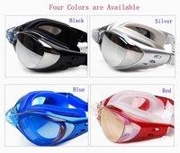новый кремневой зеркало плавательные pg603-6 очки