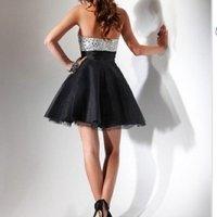 на заказ новое поступление черный шнурок маркизета выпускного вечера / невесты / / формальные / ну вечеринку / коктейльное платье свадебное платье горячая распродажа